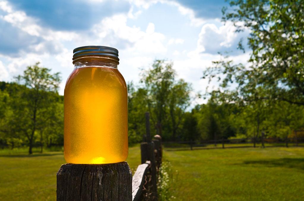 العسل الطبيعي