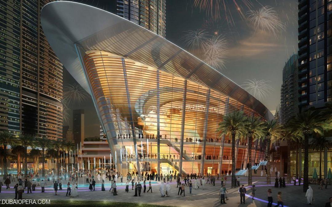 أوبرا دبي .. تحفة معمارية وإضافة فنية ( صور )