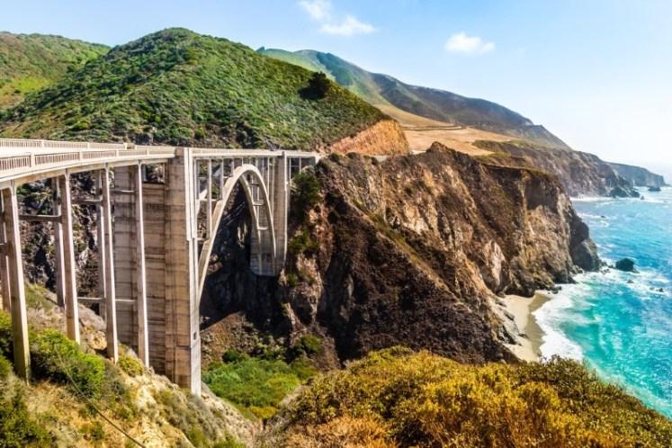 الجسور مقوسة الشكل