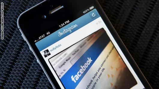 NEW YORK, NY - APRIL 09: In this photo illustration, an Instagram photo of the Facebook website app is seen on an Apple iPhone on April 9, 2012 in New York City. Facebook Inc. is acquiring photo-sharing app Instagram for approx.  billion. (Photo illustration by Justin Sullivan/Getty Images)