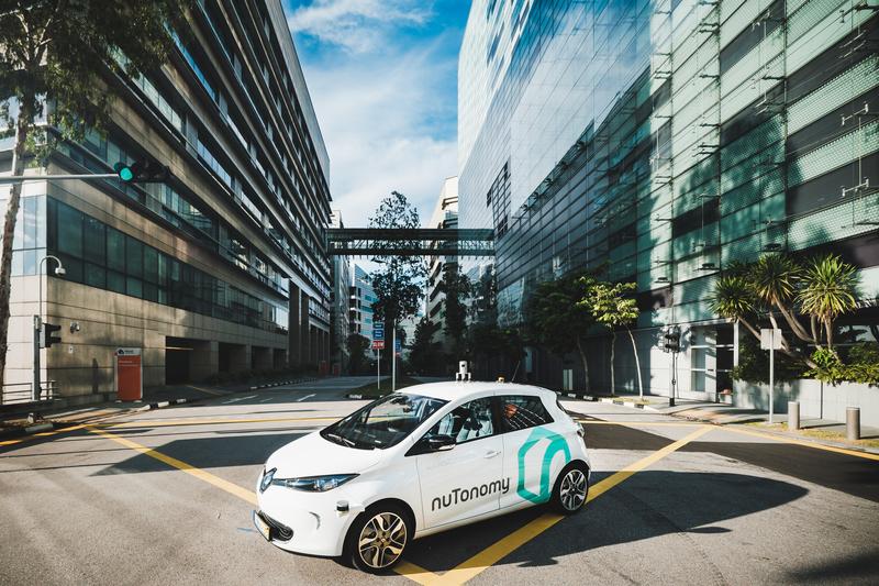 في سنغافورة، الظهور الأول لسيارات الأجرة ذاتية القيادة