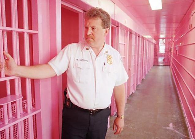 لماذا يتم طلاء السجون في سويسرا والولايات المتحدة بـ اللون الزهري ؟