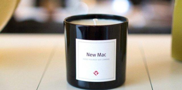 رائحة حاسوب أبل الجديد