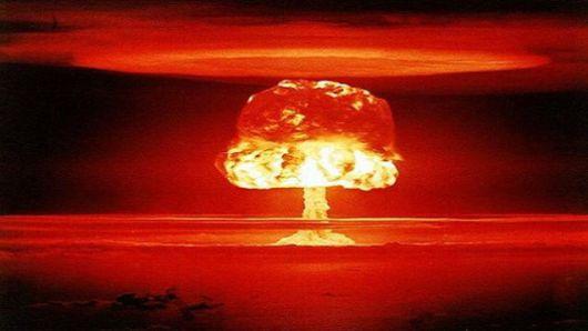 شكل انفجار القنبلة النووية