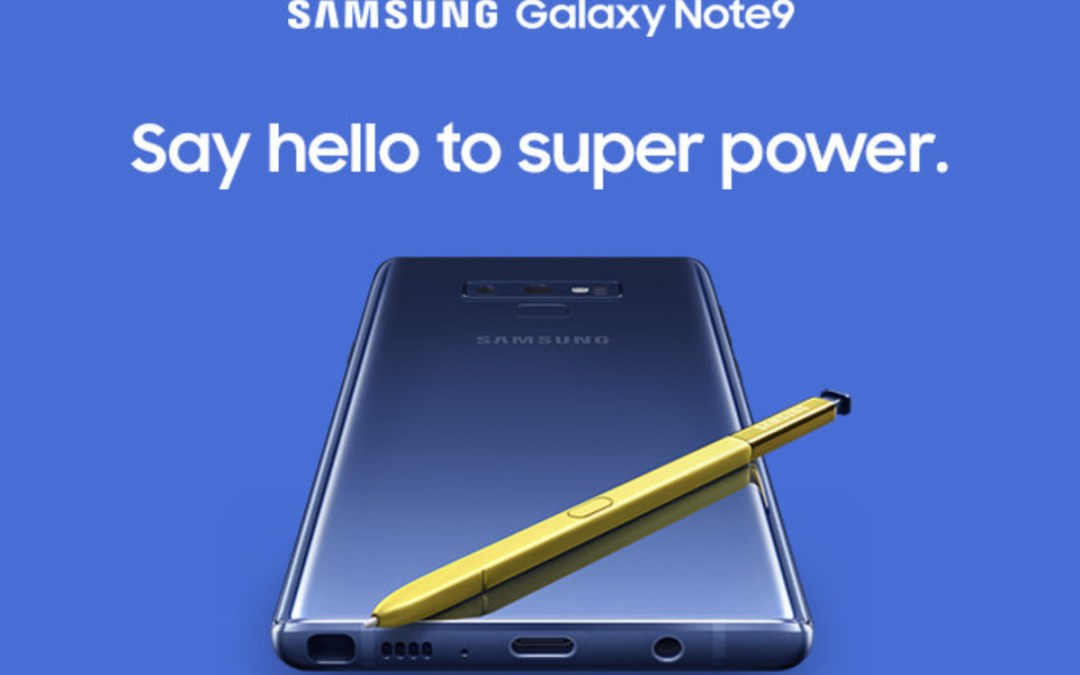 أهم مميزات جالاكسي نوت 9 الجديد – Galaxy note 9