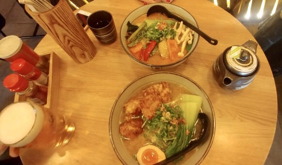 where to eat Ramen in Barcelona? Takumi Tonkotsu