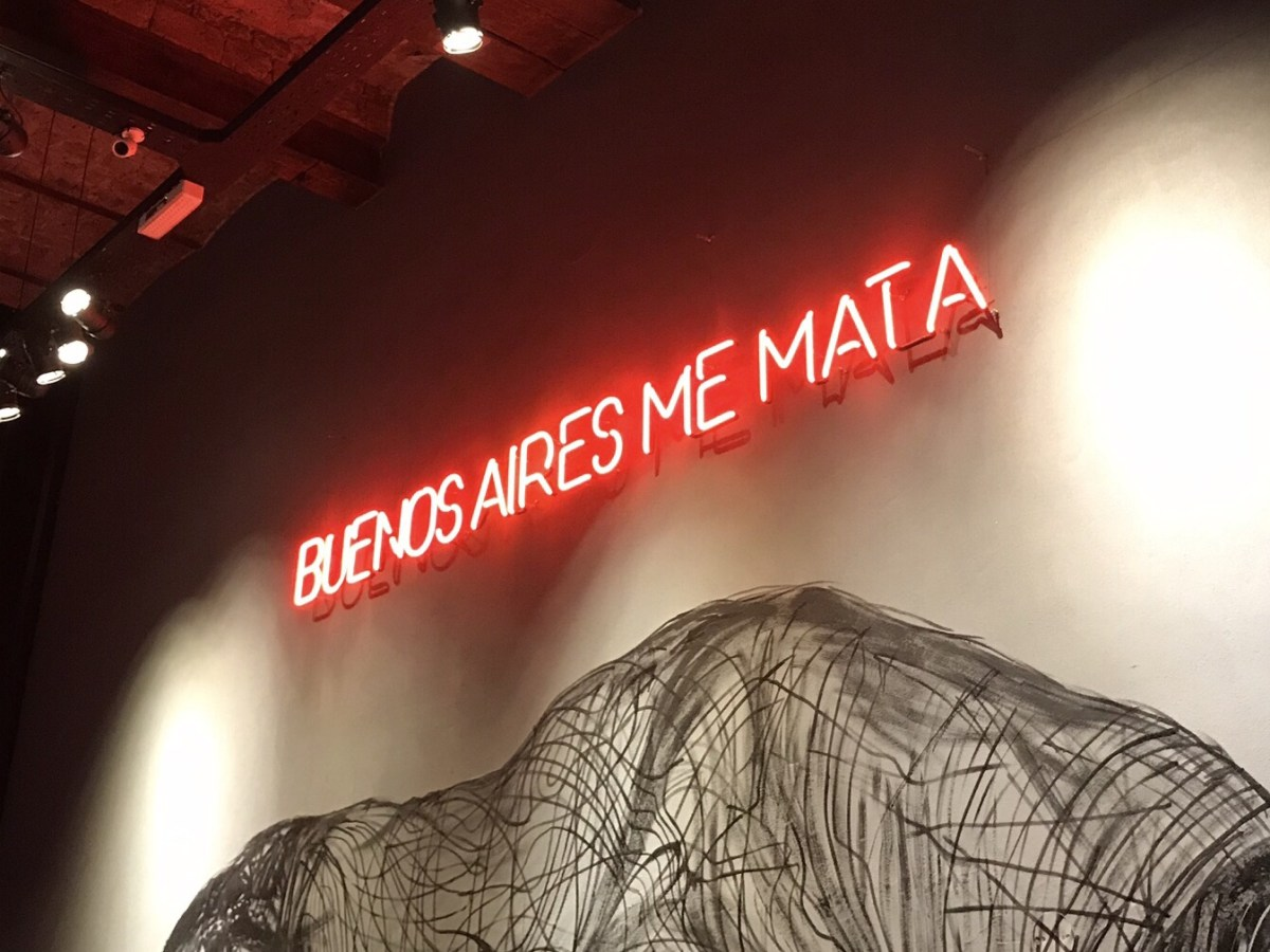 Buenos Aires me mata Besides the Obvious