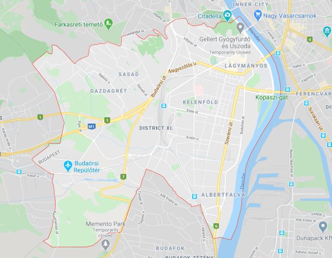 Budapest, District XI.