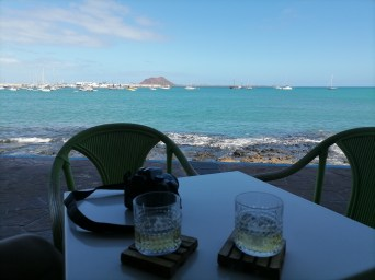 Eating and drinking in Corralejo