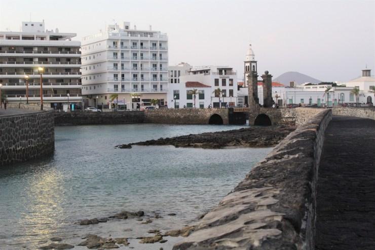 Arrecife from Castillo de San Gabriel