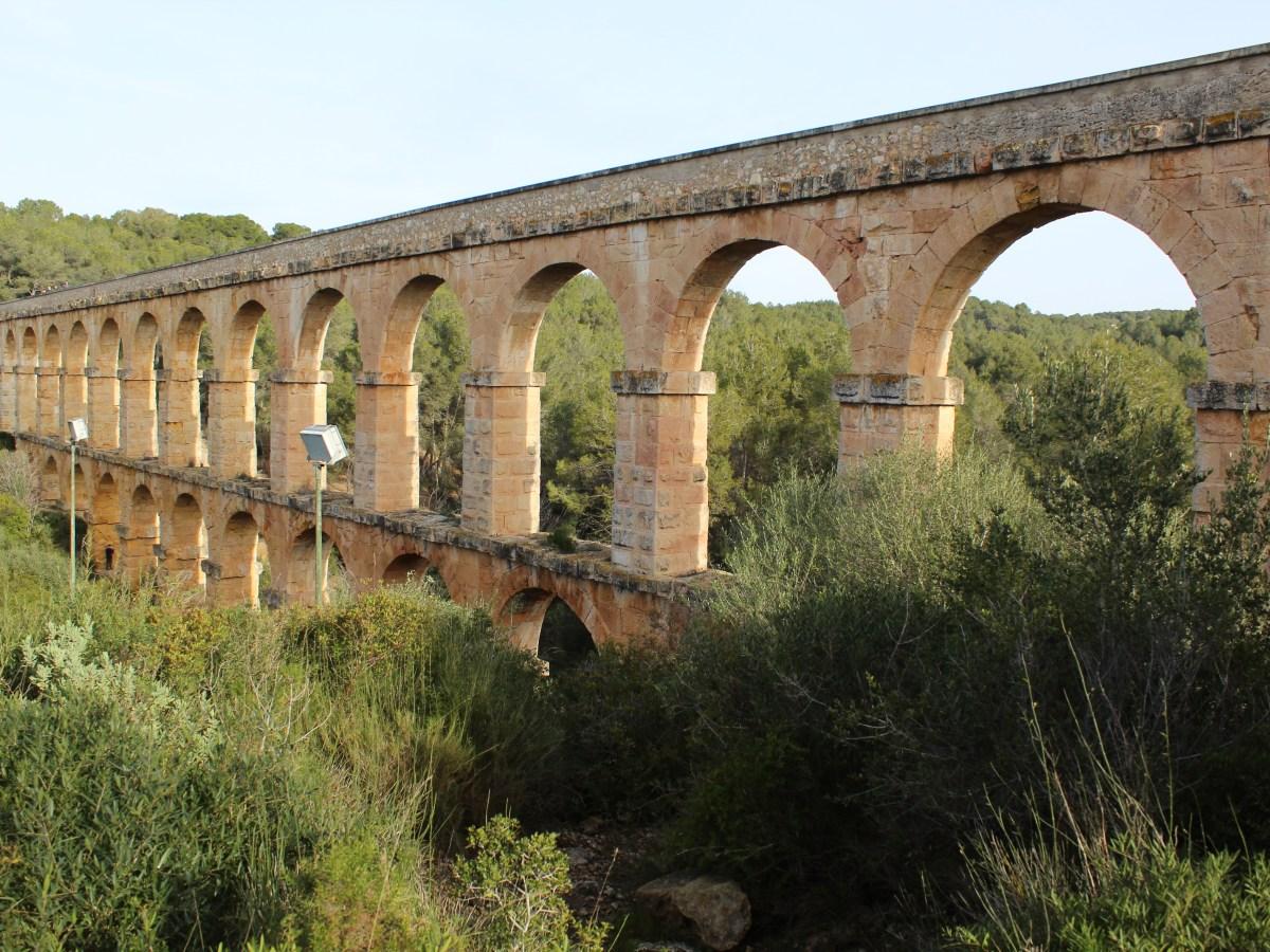 Roman route in Tarragona Province