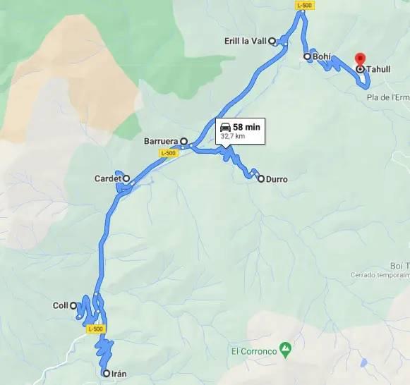 Vall de Boí UNESCO World Heritage route