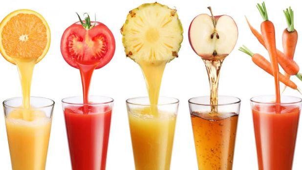 Taze sıkılmış meyve suyu yüksek oranda meyve şekeri içerdiğinden çabuk acıktıran içeceklerdendir.