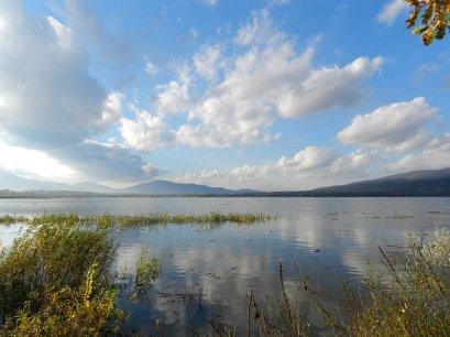 spacer z dzieckiem jezioro żywieckie