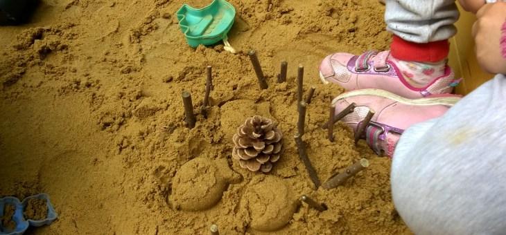 U nás na zahradě… pískoviště