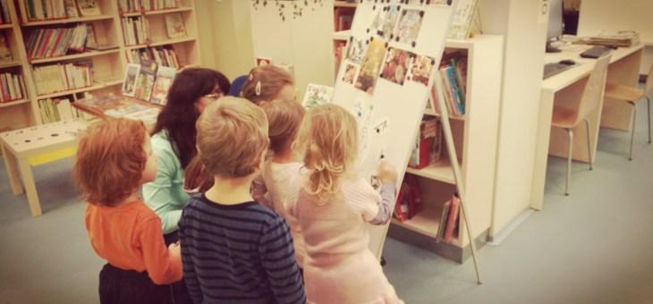 V knihovně… vánoce