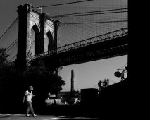 New York (Brooklyn Bridge), Gabriele Croppi, Metafisica del Paesaggio Urbano