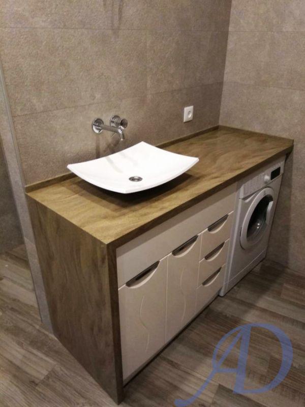 Столешницы в ванную из искусственного камня 5 000 грн
