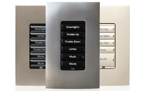 Control4 lighting keypad