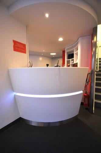 London Transport Museum Reception Desk