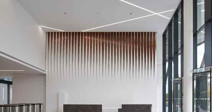 Forbury Place Thermoformed Walling