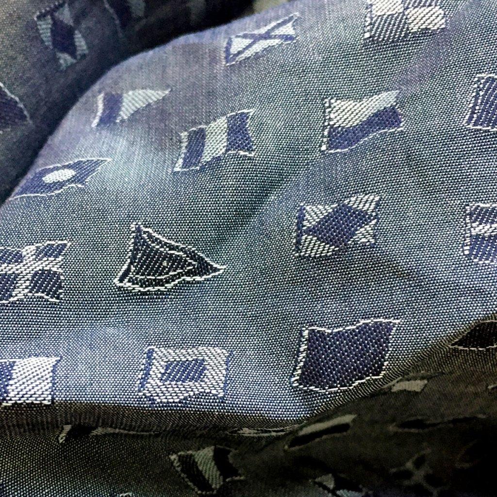 nautical themed pocket square