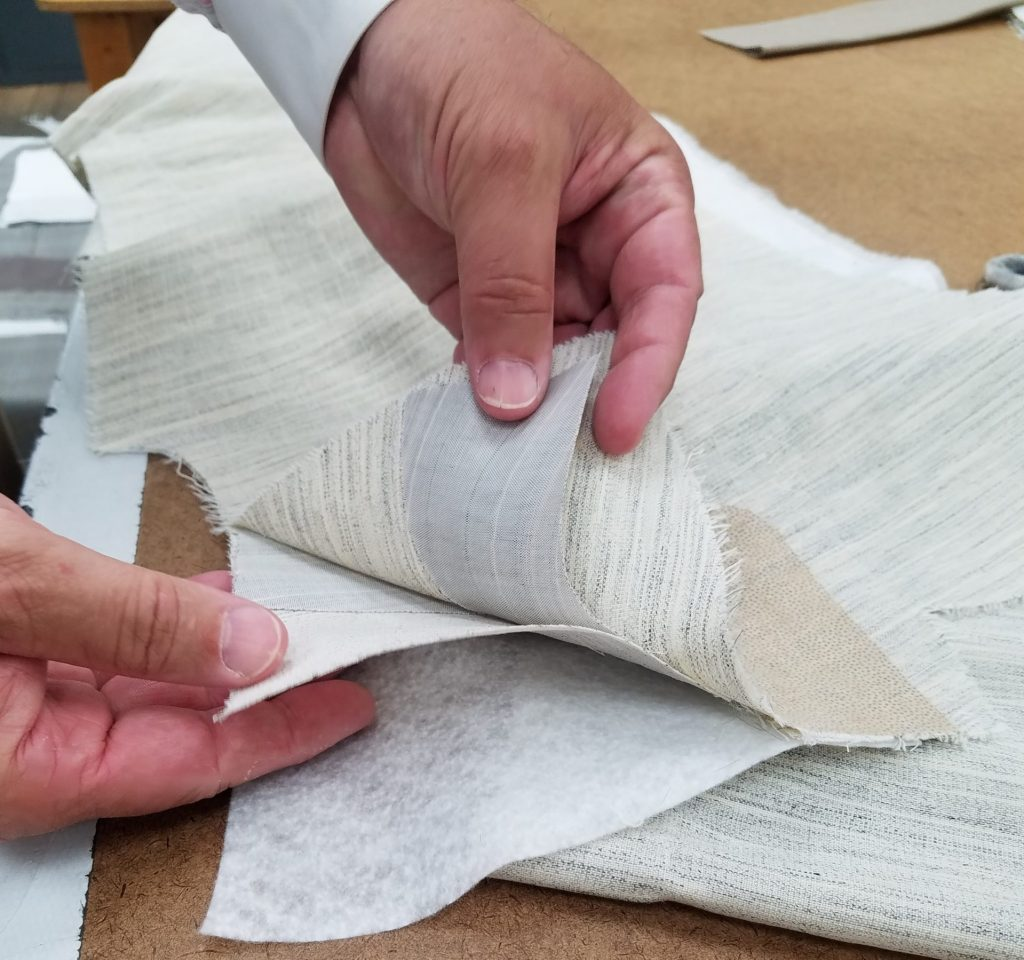 how suits are made with horse hair full canvas construction