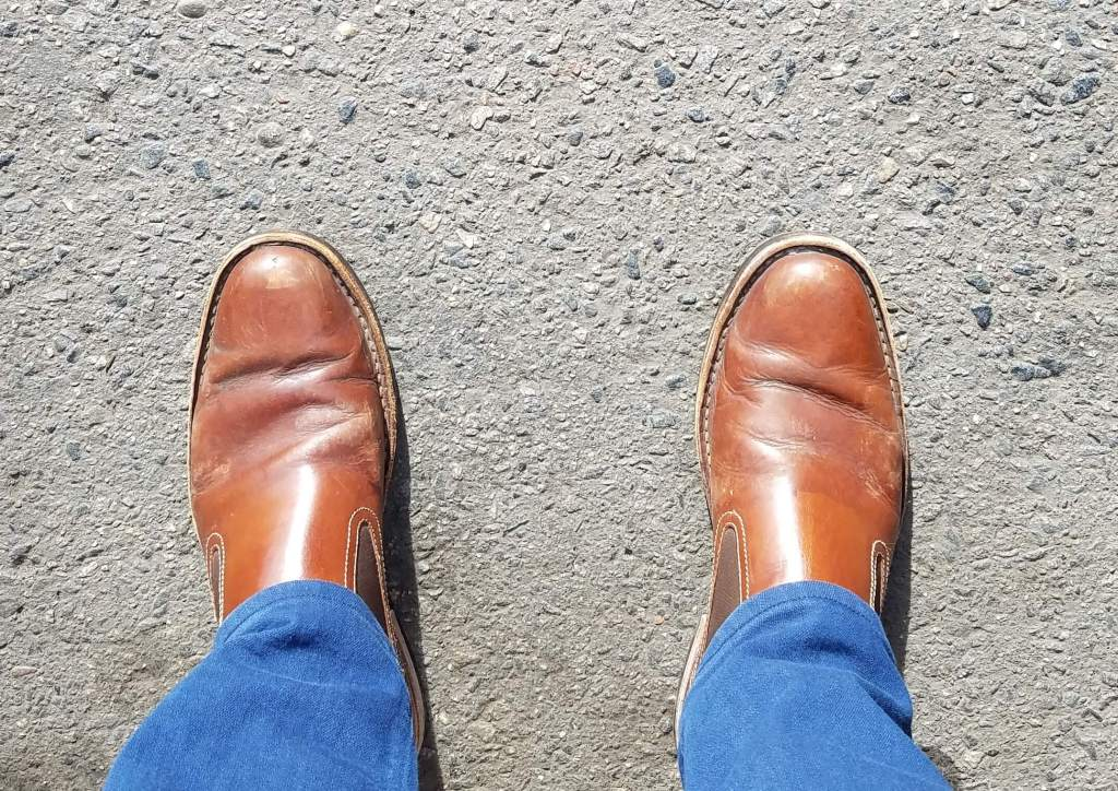 best shoe shine in denver and my before photos