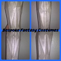 Hard armour pieces, designed by Mr.Bespoke at Bespoke Fantasy Costumes. Copyright of Bespoke Fantasy Costumes, 2016.