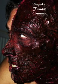 'Evil within' Make-up and special effects by Mr.Bespoke of Bespoke Fantasy Costumes, 2016. Photography by Rose-Sky Journey Pieces.