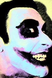 'I'm not a monster...' The Joker make-up look. Make-up by Bespoke Fantasy Costumes. Photography by Rose-Sky Journey Pieces. Copyright 2016.
