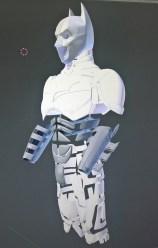 3D print Batman costume design, photographed by Bespoke Fantasy Costumes, 2017.