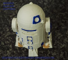 R2D2 model, printed and painted by Bespoke Fantasy Costumes. Designed 2016, photographed 2017.