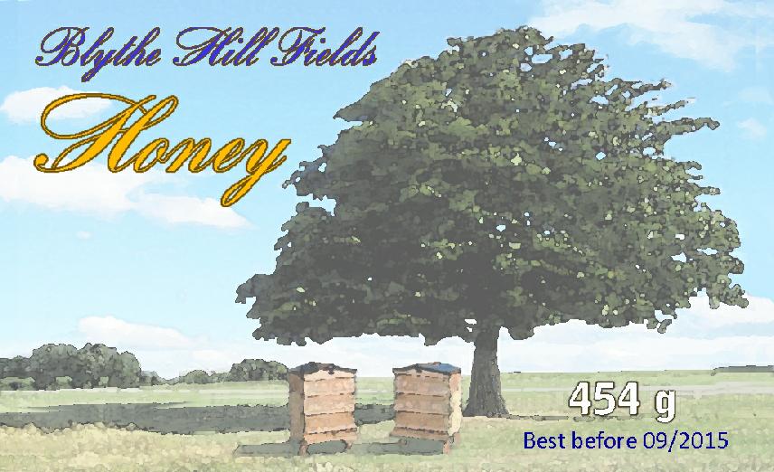 Customised honey label