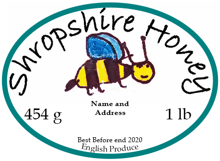 Bespoke honey label