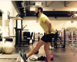 hamstring stretch for runners