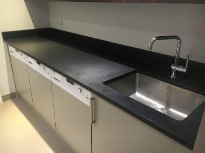 Black granite detergent stain removal | Bespoke Repairs on Black Granite Stain  id=44208
