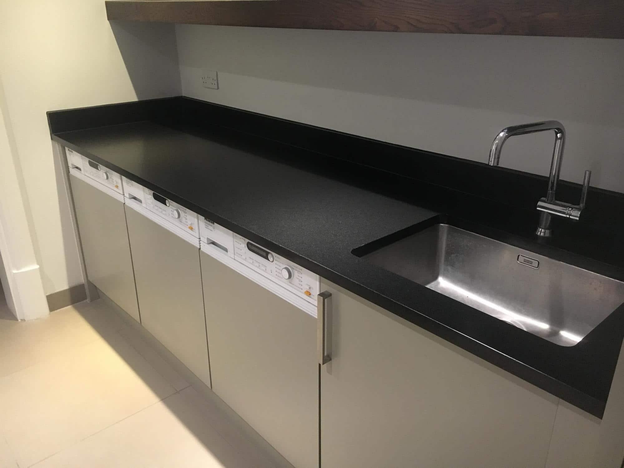 Black granite detergent stain removal | Bespoke Repairs on Black Granite Stain  id=86024