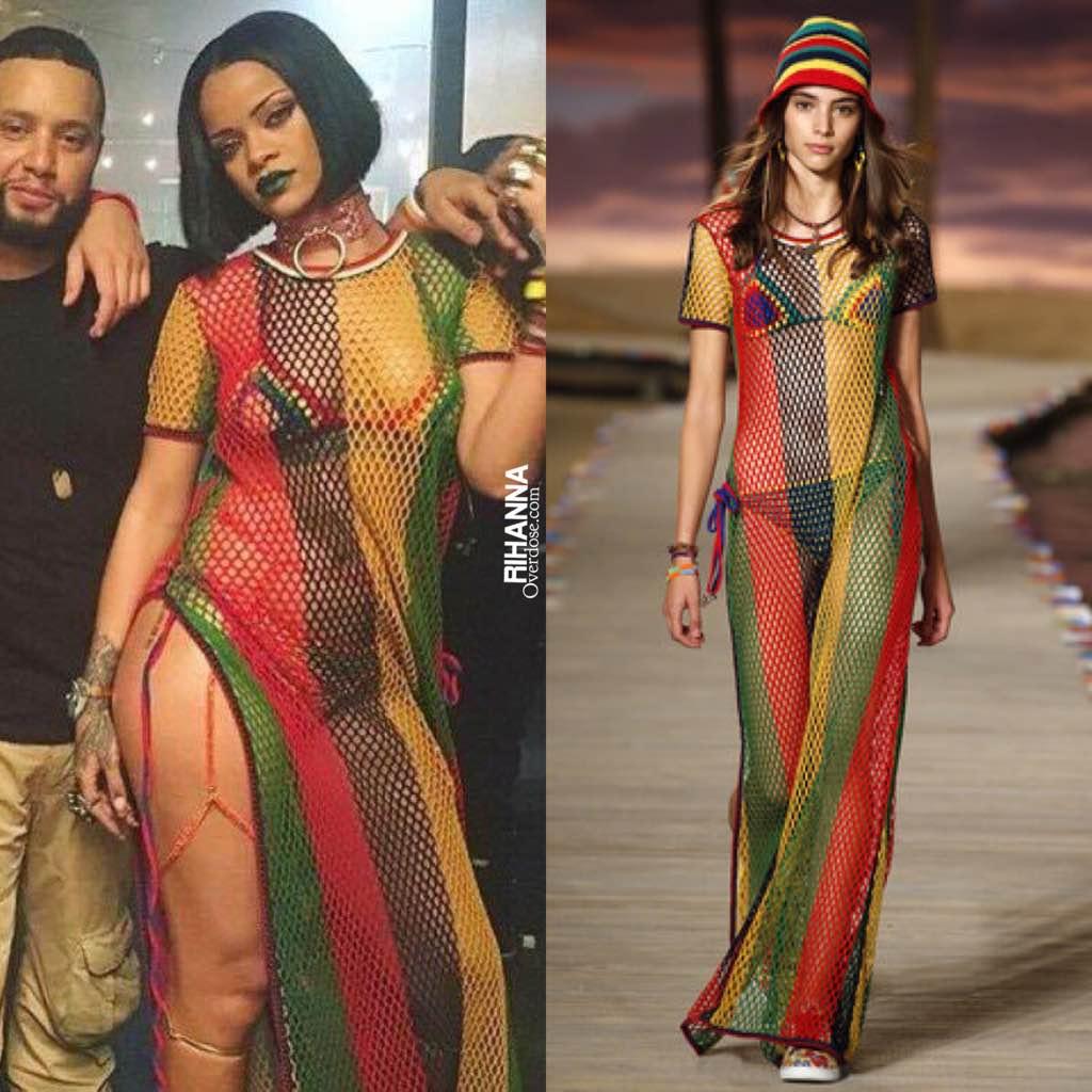 Rihanna In Tommy Hilfiger