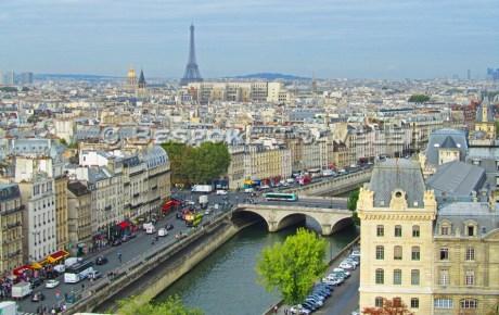 Above the Seine