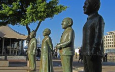 Cape Town Waterfront Statues