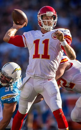 Chiefs quarterback Alex Smith leads an offense ranked No. 4 in the BES
