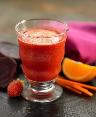 Rote Bete und Karotten für Saft