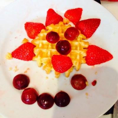 Fruity Waffles