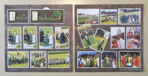Grad Scrapbook Layout 1