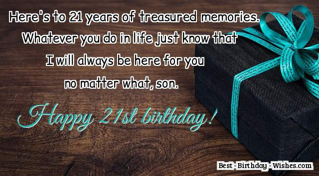 21st Birthday Wishes What To Write In A 21st Birthday Card