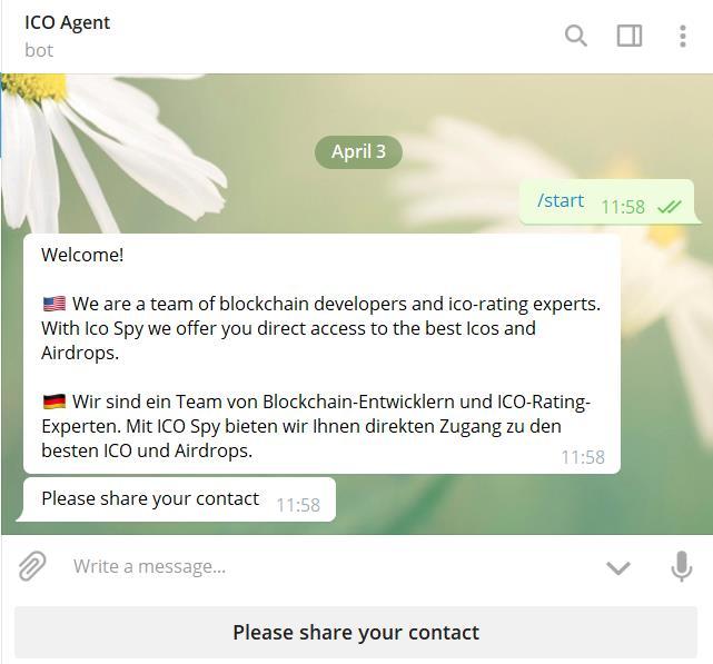 ICO Agent