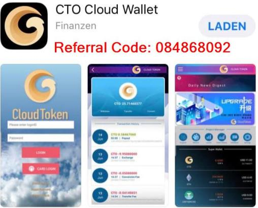 CTO Cloud Wallet Referral Code