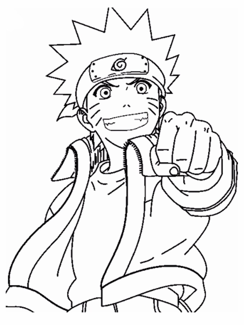 Shippuden Coloring Pages