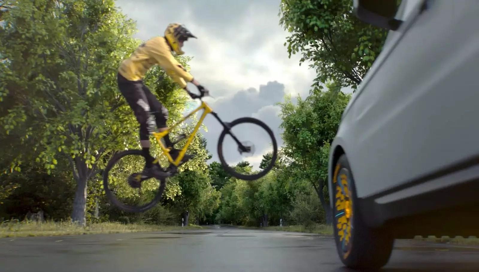 Der Reifen fühlt Screen 10